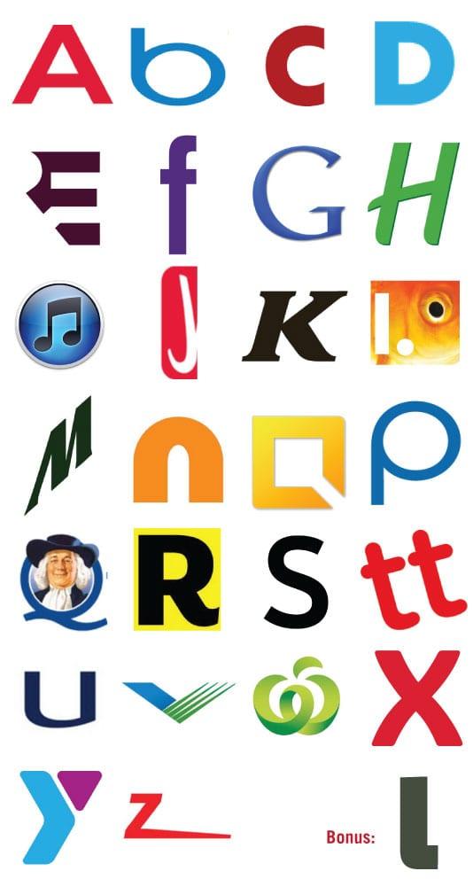 4500  Letter Log...A Alphabet Logo Design